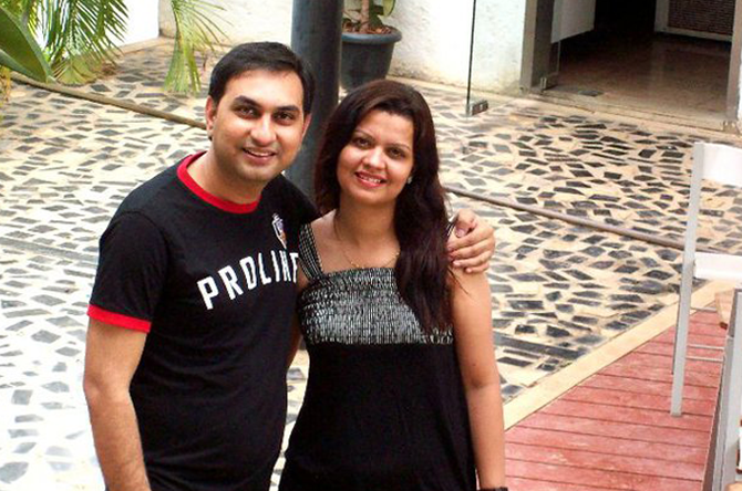 A love that is growing (Abhishek Tiwari & Surabhi Tiwari)