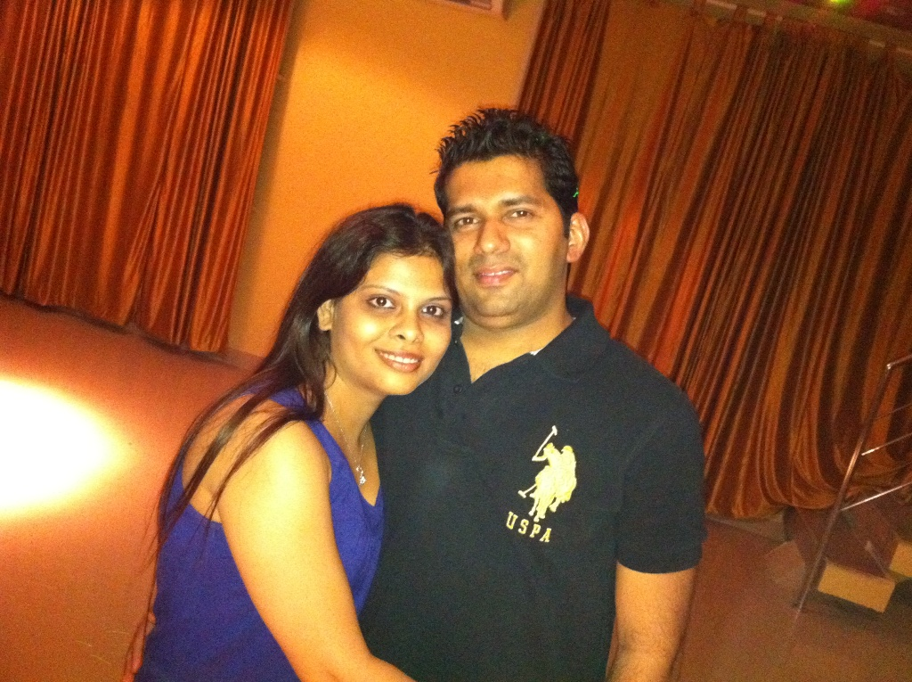 A love that triumphed over troubles! (Shweta and Lis)